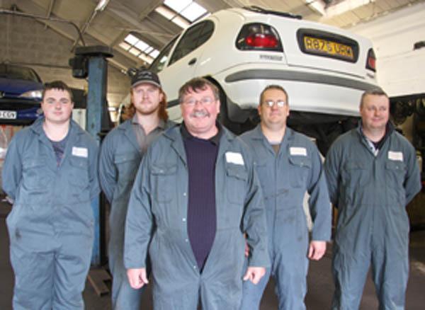 Garage Celebrates 30 Years Service to Town