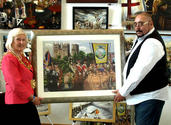 Art Show Raises Funds for New Autism Centre at Aycliffe