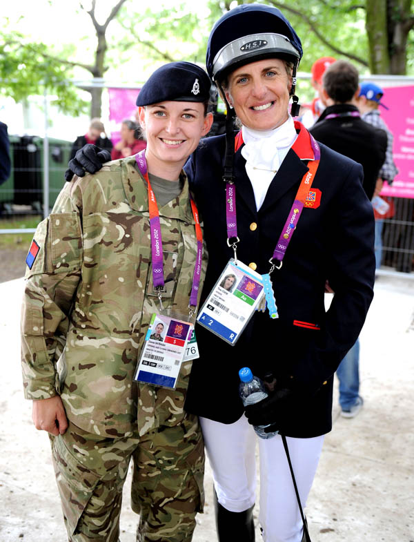 Aycliffe Soldier Meets Olympic Medallists