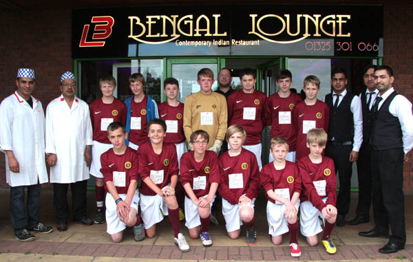 Restaurant Sponsors Junior Team