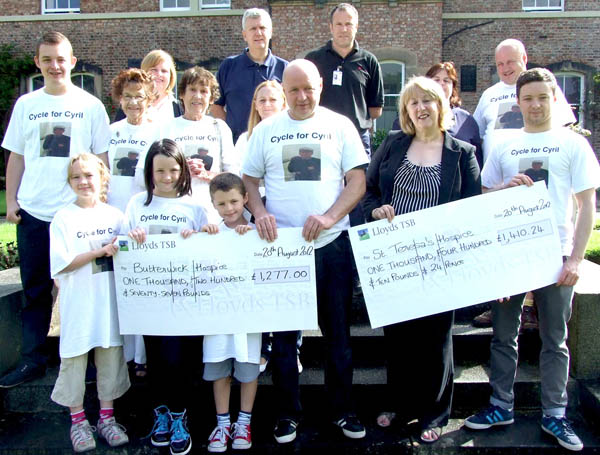 Cycle for Cyril Raises £2,700
