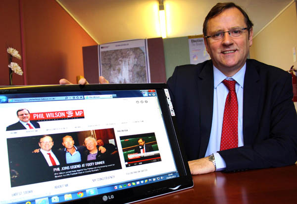 Our MP Launches Interactive Website