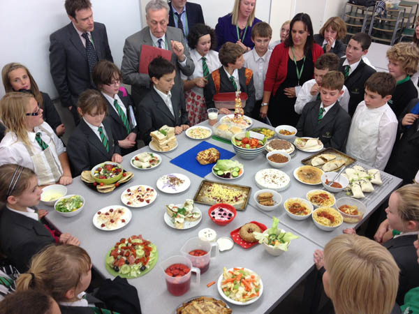 Woodham Academy Hosts Masterchef!