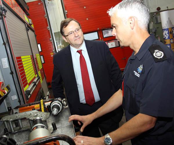 MP Praises Fire Service's Cost-Cutting Plans