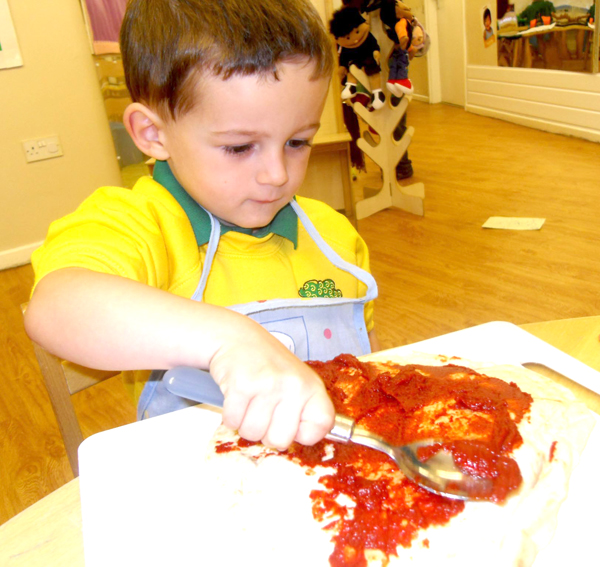European Day at Nursery