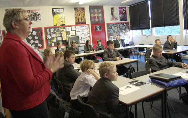 Woodham Academy Launch Apprenticeship Awareness Project