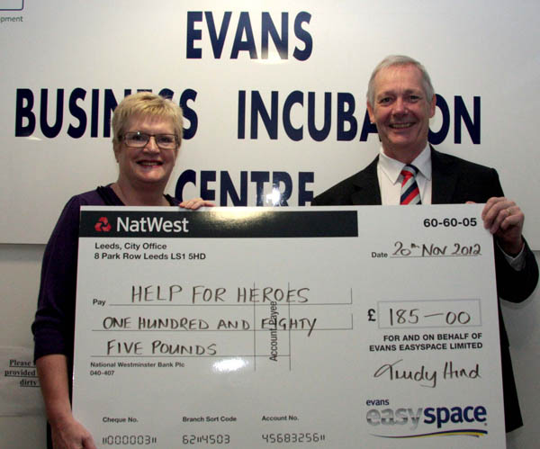 Business Centre Raises £185 for Charity