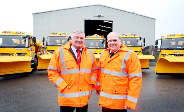 Ten New Road Gritters to Keep Durham Moving