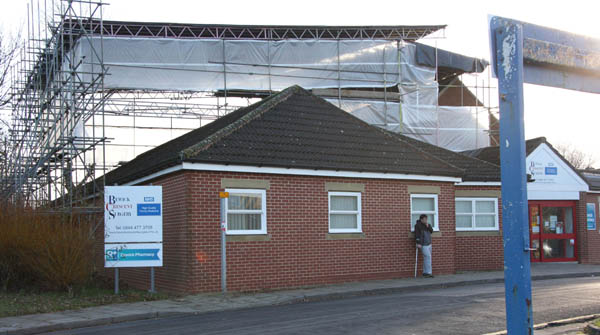 Changes at Bewick Crescent Surgery
