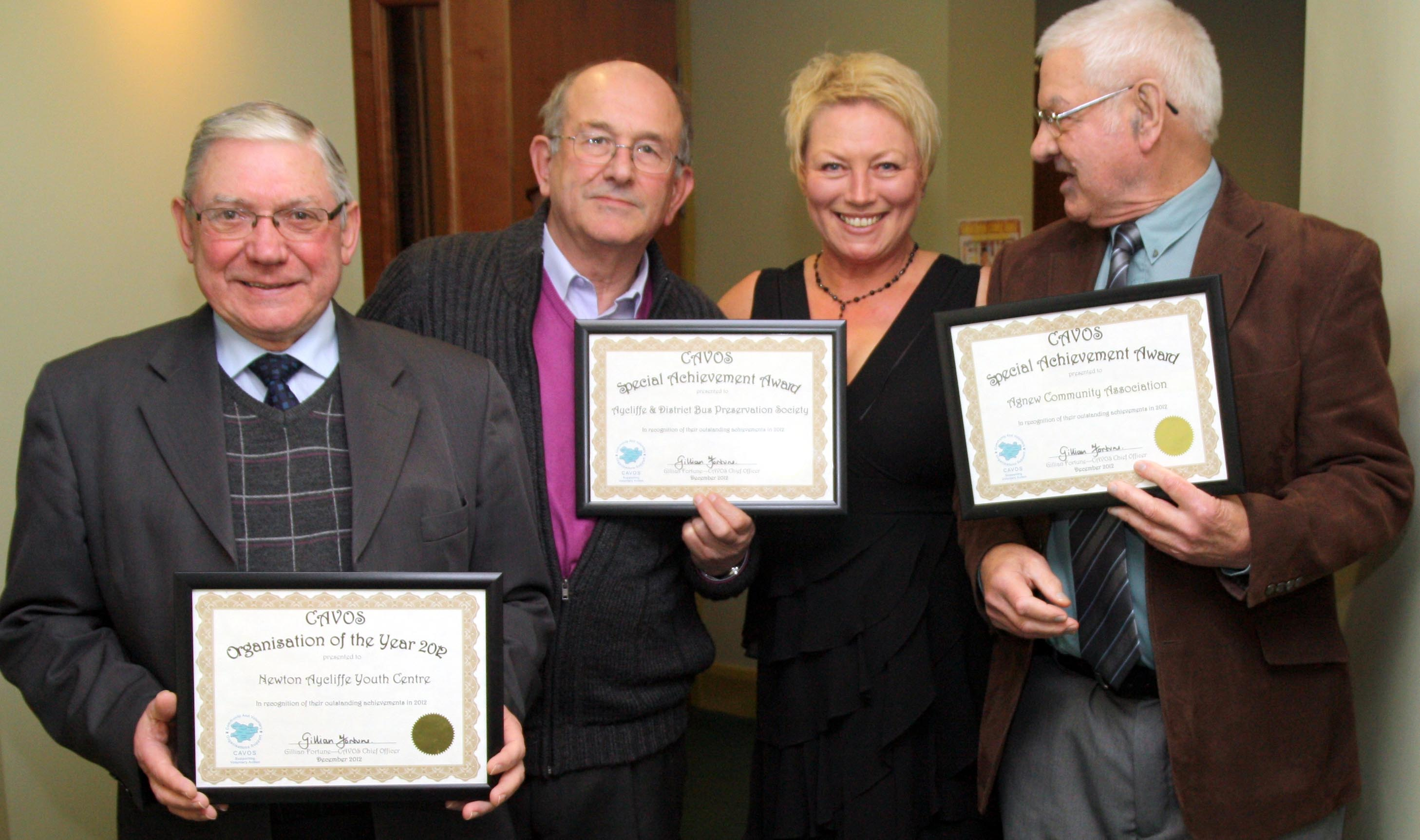 """Three """"Excellent"""" Awards for Aycliffe"""