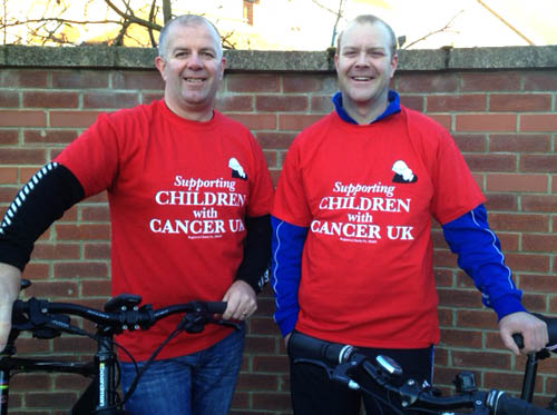 Aycliffe Bikers on C2C Ride for Charity