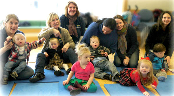 Belgium Therapists Visit Aycliffe