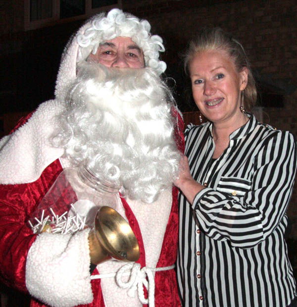 Rotary Club's Annual Street Tour with Santa