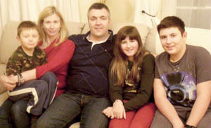 Aycliffe Family Move to USA