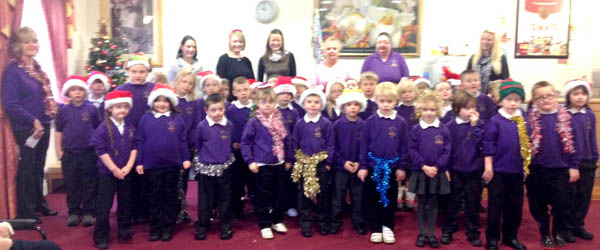 Carol Singing for Care Home Residents