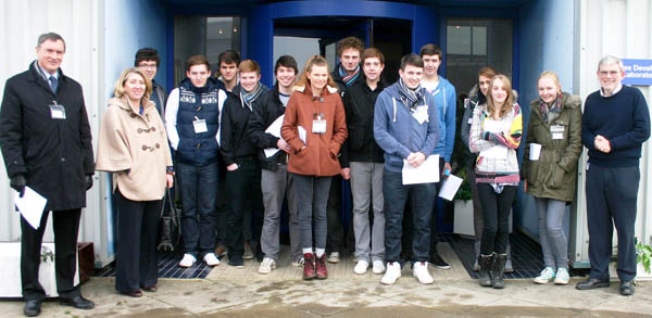 College Sixth Form Visit Ineos