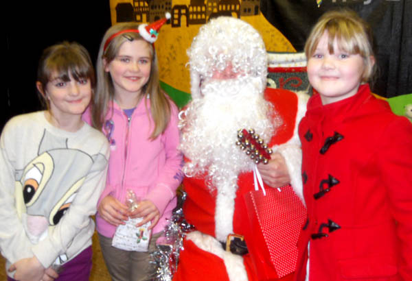 Children Celebrate Christmas at St. Clare's