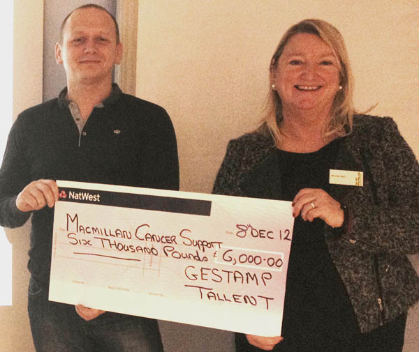 Tallents Raise £7,000