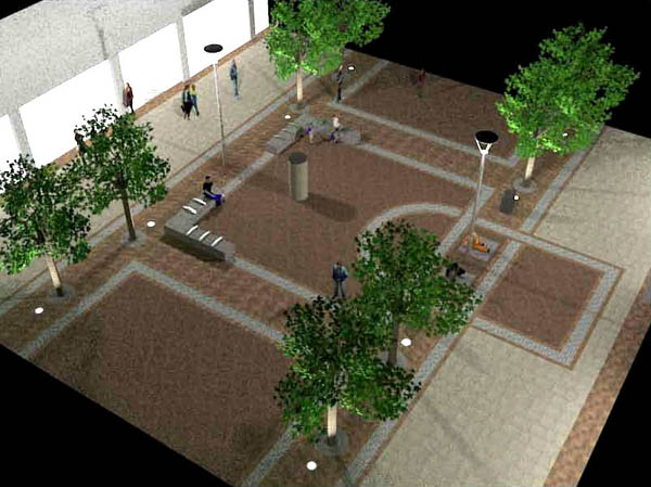 Major Work Starts On Town Centre