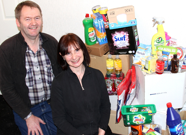 Aycliffe Charity Gives a Helping Hand