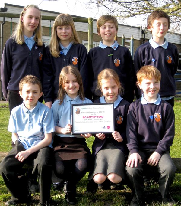 Big Lottery Funds Village School Garden