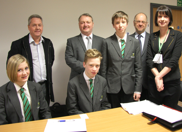 Aycliffe Business Community Strengthens Links with Schools