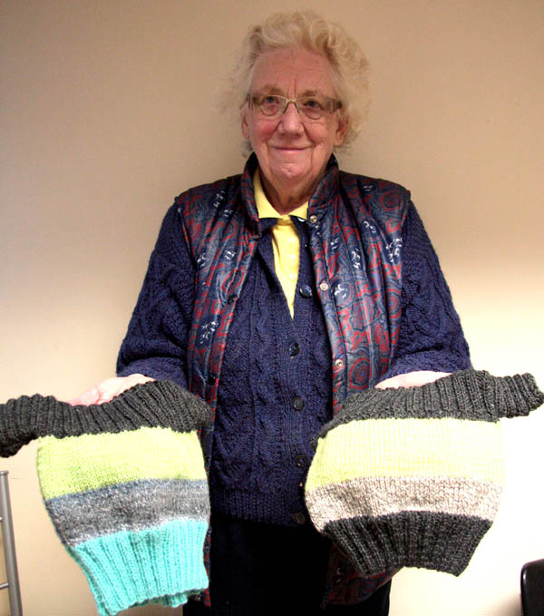 Please Knit a Fish & Chip Jumper