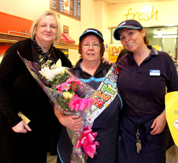 Retiring After 21 Years at Greggs