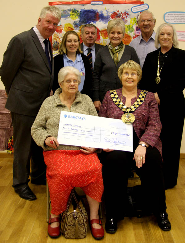 Help for Mayor's Charities from Agnew