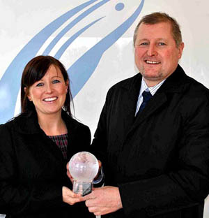 Award for Aycliffe Seafood Supplier