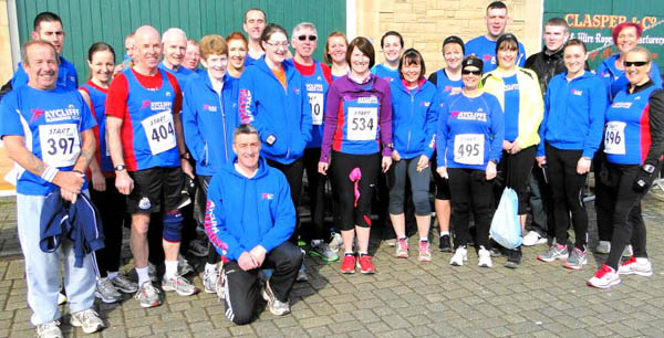 Aycliffe Well Represented at Hartlepool Road Race