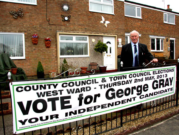 Town and County Council Election Campaign Underway