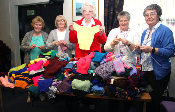 Generous Aycliffe Response to Baby Knitwear Appeal