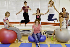 New Fitness Fun at the PCP