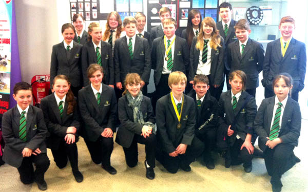 Woodham Swimmers Perform Well at County Games