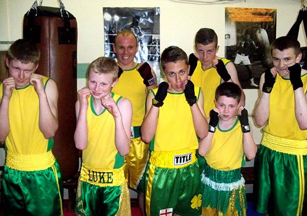 Boxing at The Big Club