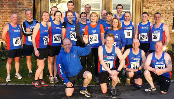 Aycliffe Runners in Tees Trail