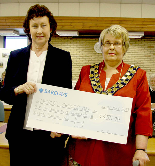Mayor Raised Over £6,500 for Charity