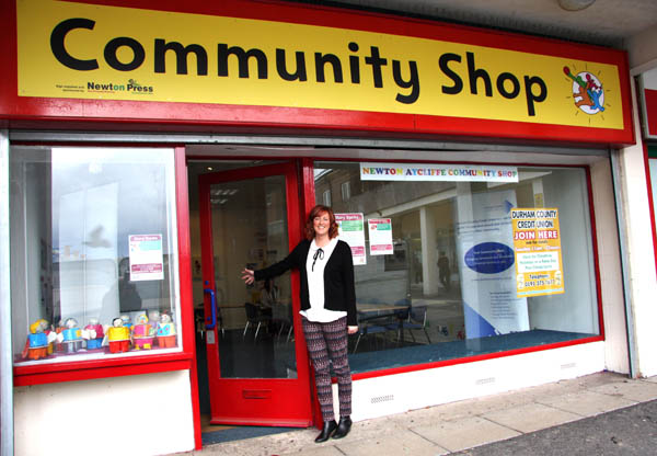 Town Groups Can Use Shop Free of Charge