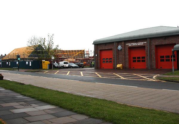 New Houses Built for Aycliffe Firemen
