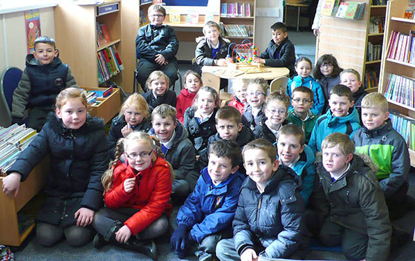 St. Mary's Visit Town Library!