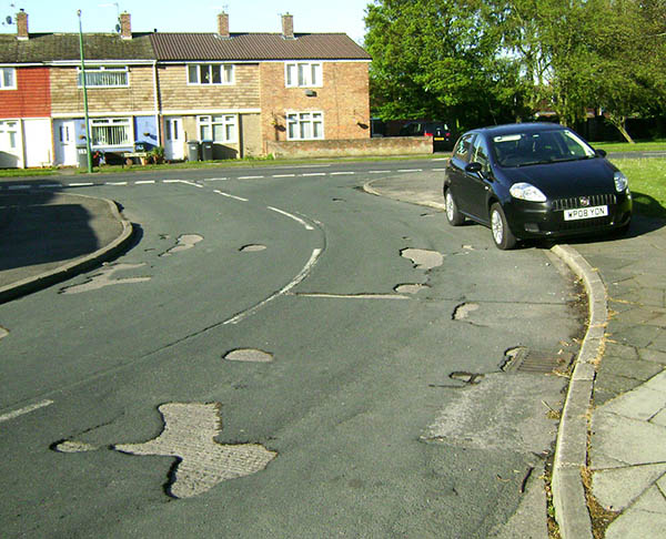 Council Act on Road Surface Complaint