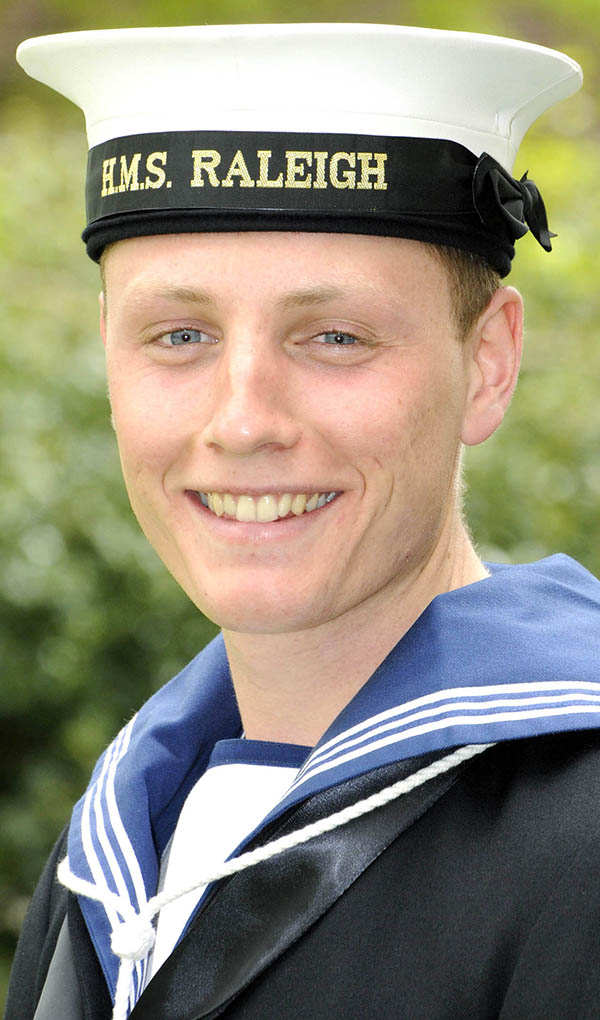 Aycliffe Recruit Sails Through Royal Navy Training