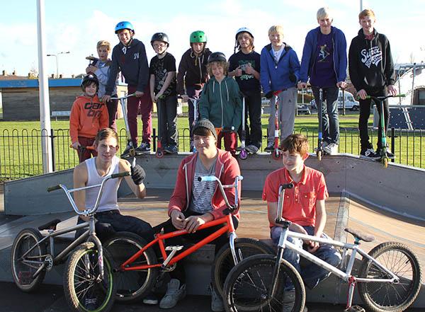 Skate Park Users Raise £257