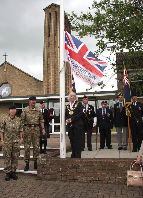 Town Called to Mark Armed Forces Week
