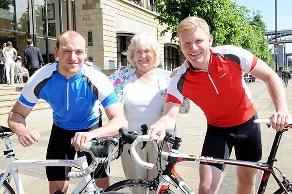 Aycliffe Biker on 12 Day Ride for Charity
