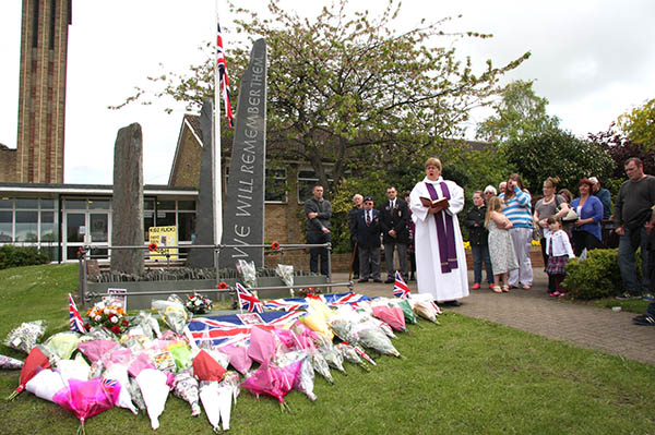 Aycliffe Pays Respect to Drummer Rigby