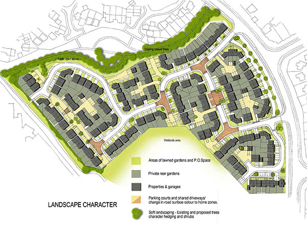 Application for 182 New Homes at Cobblers Hall