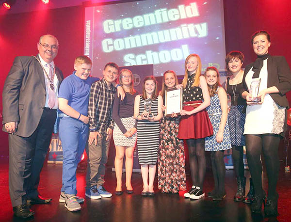 Greenfield Win £2000 for Best Business Project