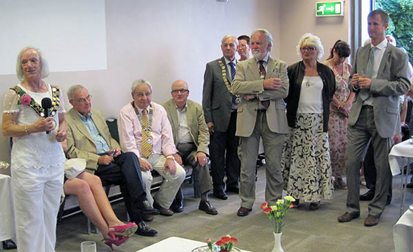 New Mayor Holds Reception